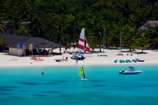 Kuredu Island Maldives - water sports centre